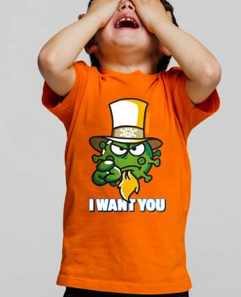 Camiseta niño I Want You