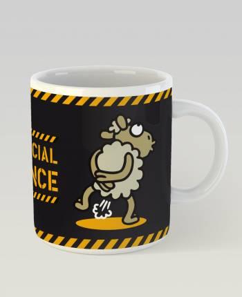 Social Distance Mug
