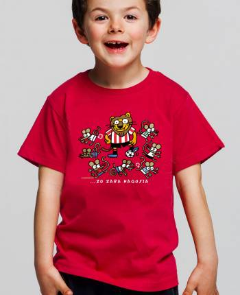 Camiseta niño Athletic