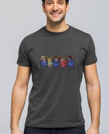 Camiseta hombre Al-Vaca