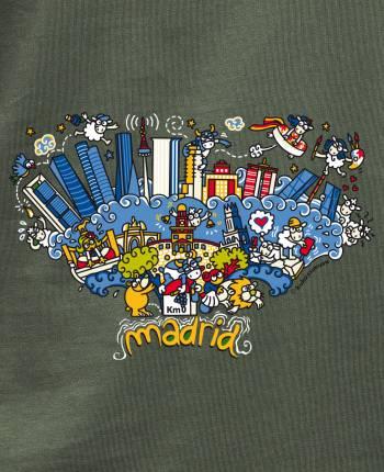 Skyline Madrid Men's T-shirt