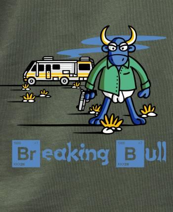 Breaking Bull Men's T-shirt