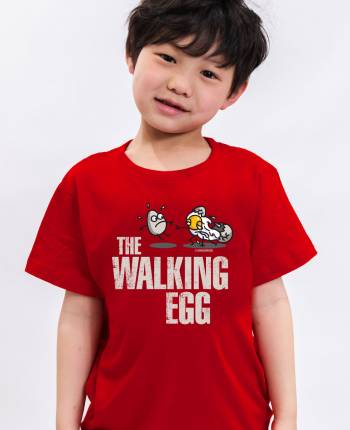 Camiseta niño The Walking Egg
