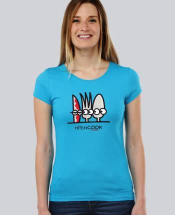 Camiseta mujer Hitchcook