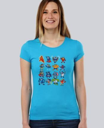 Camiseta mujer Super Sheeps