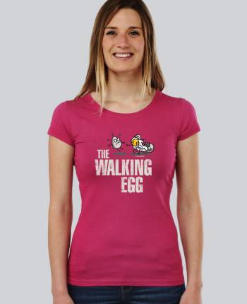 Camiseta mujer The Walking Egg