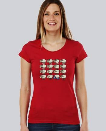 Camiseta mujer Escondido