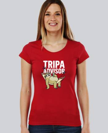 Camiseta mujer Tripa Advisor