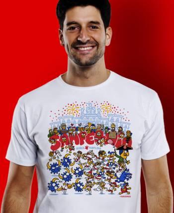 Camiseta hombre Toronavirus