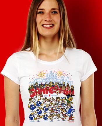 Camiseta mujer Toronavirus