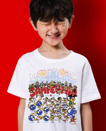 Camiseta infantil Toronavirus
