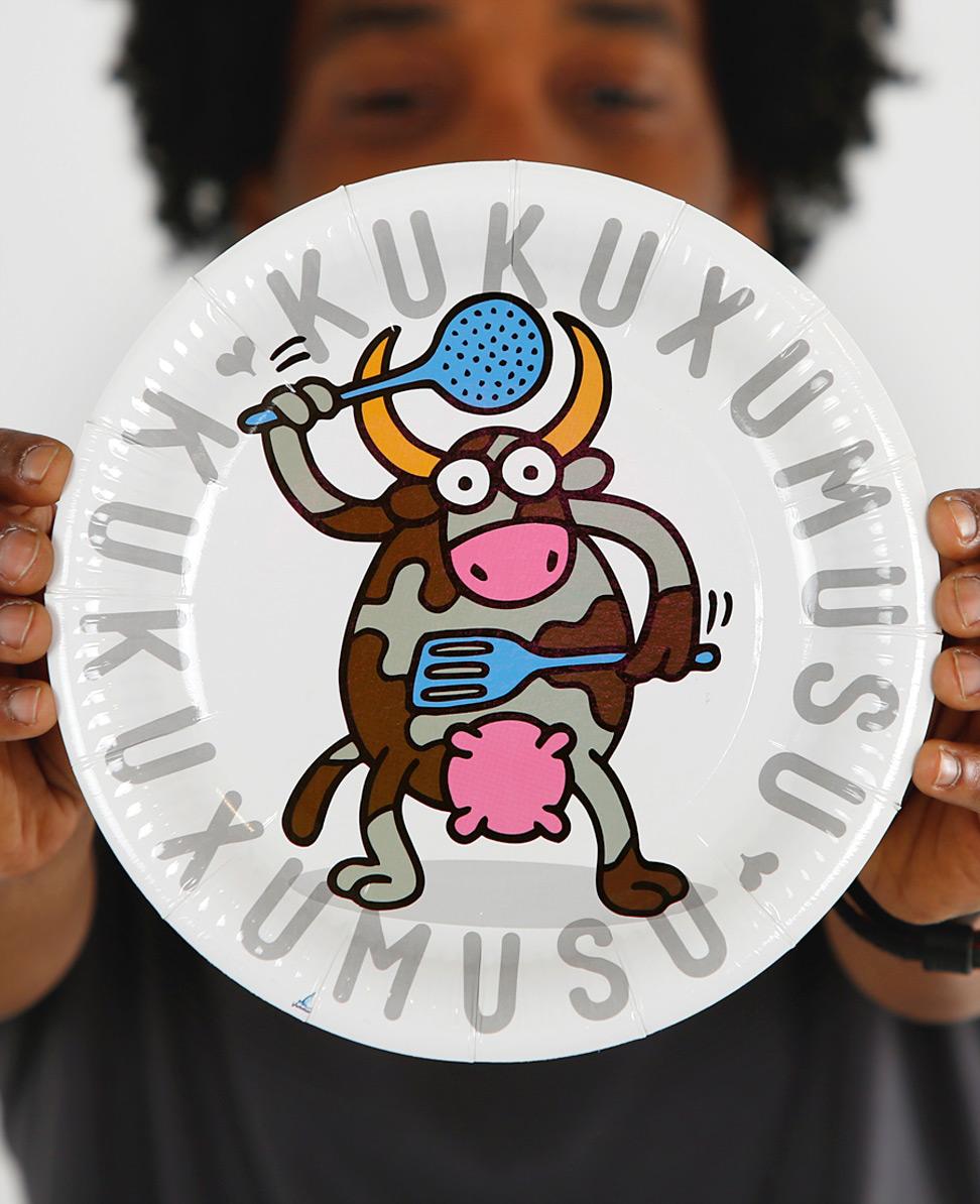 Vacas Cocina Plates (8 units)