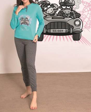 Pijama mujer Bovino Royale