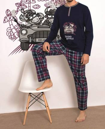 Pijama hombre Bovino Royale