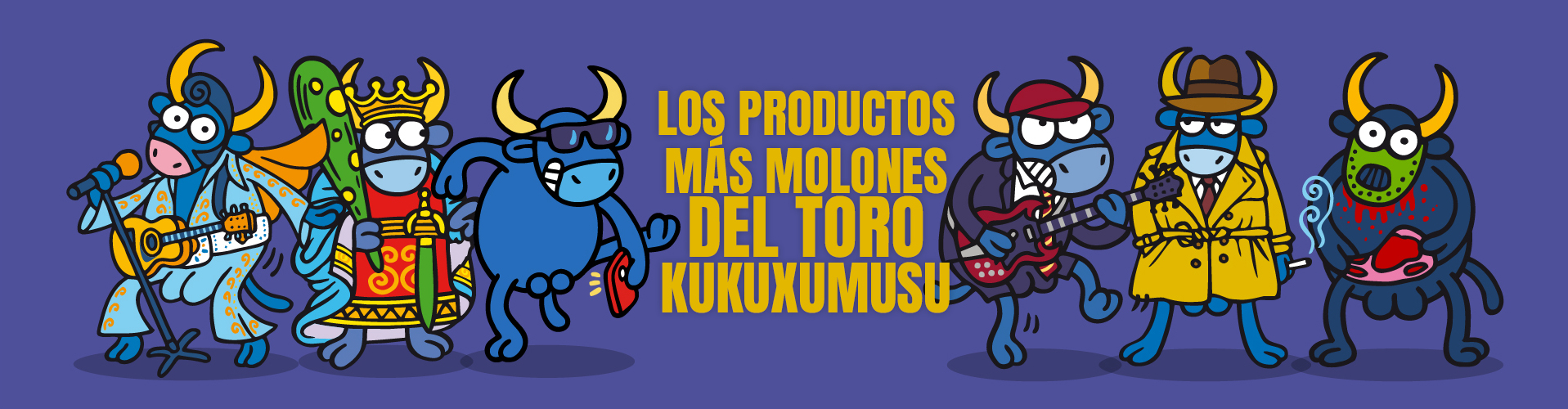 los productos más molones del toro kukuxumusu