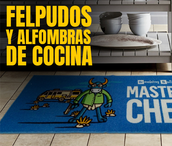 FELPUDOS Y ALFOMBRAS DE COCINA