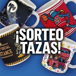 ESTE SORTEO VA DE TAZAS!!! Sorteamos 3!!!!  Lo de siempre!!! 😎 Menciona a un amigo 😎 Síguenos 😎 Dale a me gusta a la foto  Mucha suerte a todos!!!