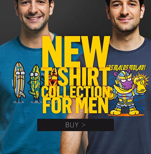 Man T-shirts Kukuxumusu